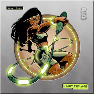 Kelly Glow - Ready for War